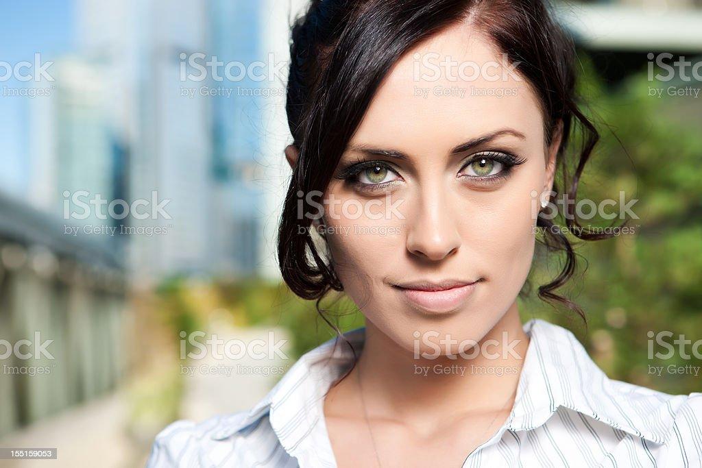 Portrait of Gorgeous Woman royalty-free stock photo