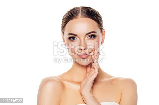 1051999102 istock photo Portrait of gorgeous young woman 1192346722