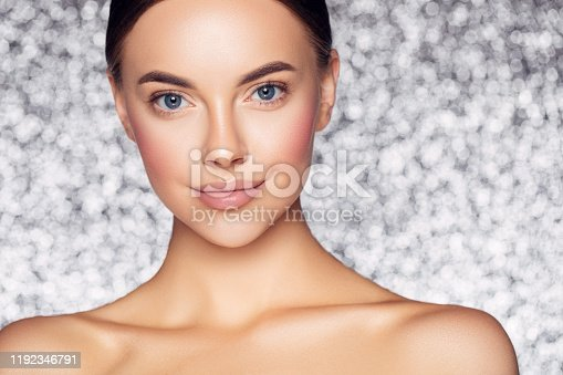 1051999102 istock photo Portrait of gorgeous young woman 1192346791
