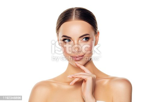 1070715740 istock photo Portrait of gorgeous young woman 1192346896