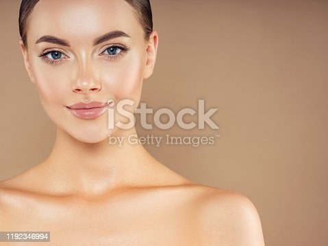 1070715740 istock photo Portrait of gorgeous young woman 1192346994