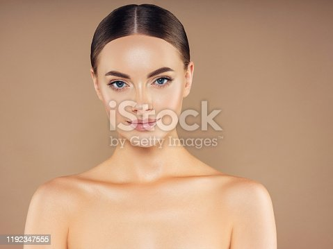 1070715740 istock photo Portrait of gorgeous young woman 1192347555