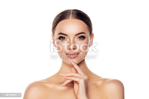 1051999102 istock photo Portrait of gorgeous young woman 1192348117