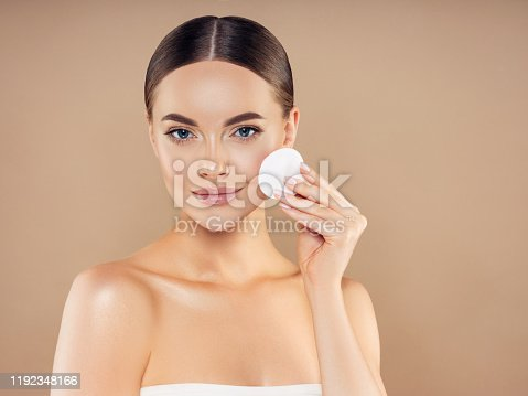 1051999102 istock photo Portrait of gorgeous young woman 1192348166