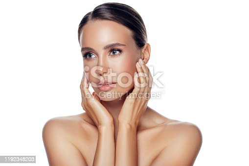 1070715740 istock photo Portrait of gorgeous young woman 1192348203