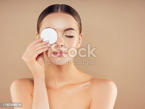 1051999102 istock photo Portrait of gorgeous young woman 1192348316