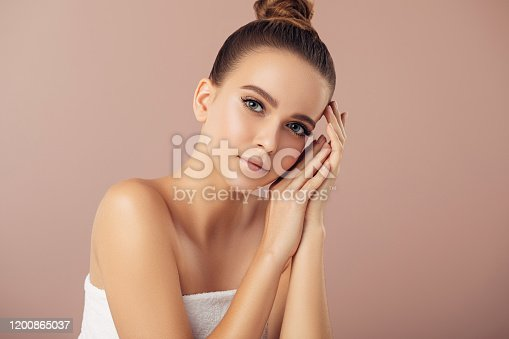1051999102 istock photo Portrait of gorgeous young woman 1200865037