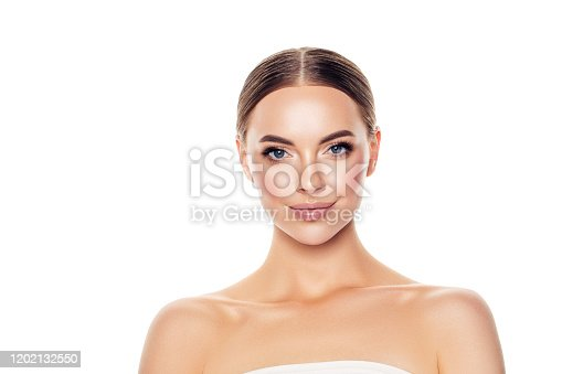 1070715740 istock photo Portrait of gorgeous young woman 1202132550