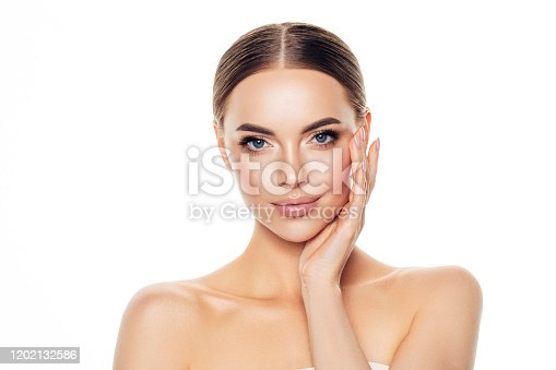 1051999102 istock photo Portrait of gorgeous young woman 1202132586