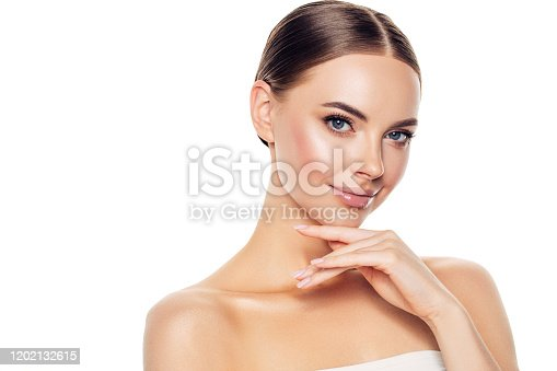 1070715740 istock photo Portrait of gorgeous young woman 1202132615