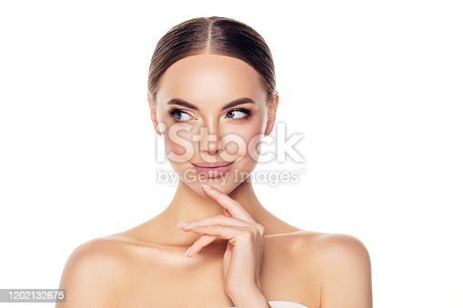 1051999102 istock photo Portrait of gorgeous young woman 1202132675