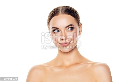1070715740 istock photo Portrait of gorgeous young woman 1207948075