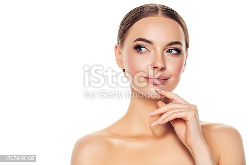 1051999102 istock photo Portrait of gorgeous young woman 1207948106