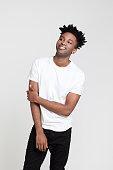 istock Portrait of handsome afro american man 1097328792