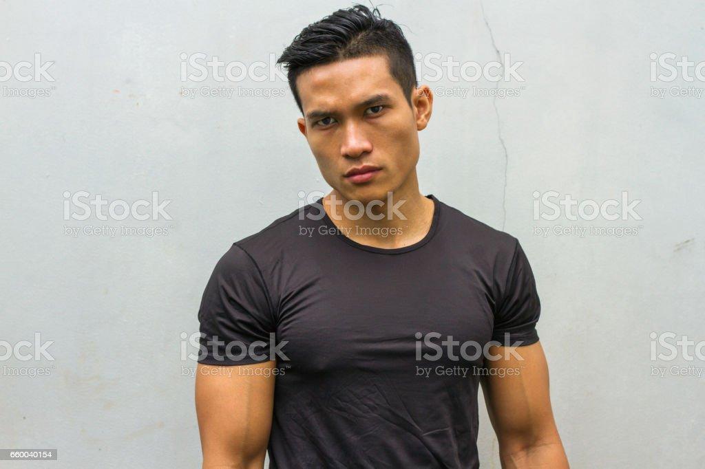 Indonesian muscle men