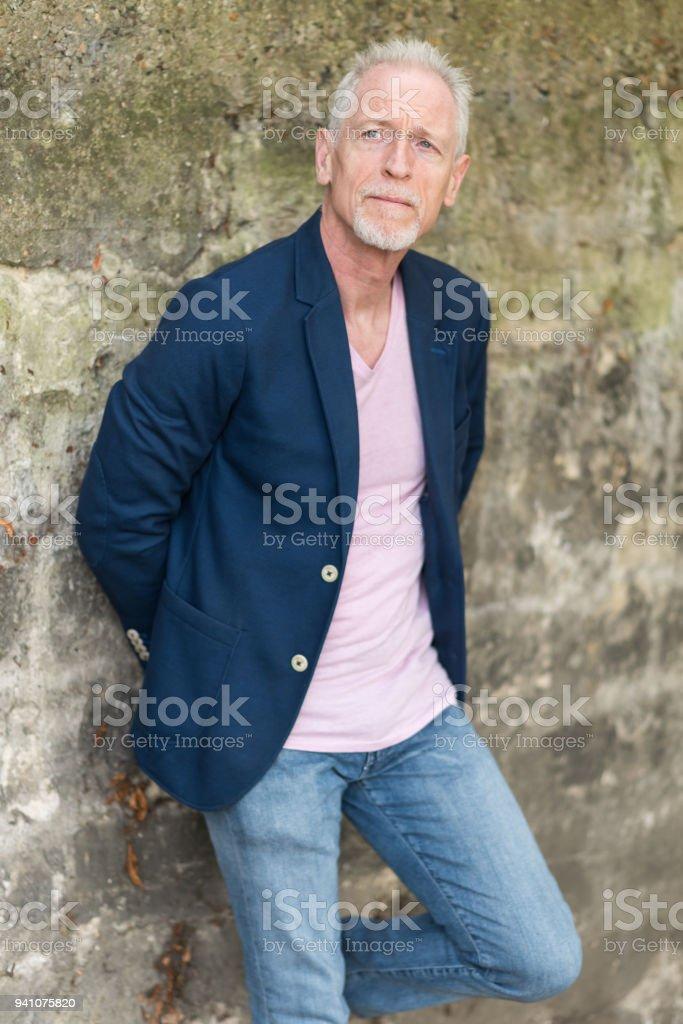 Yakışıklı Olgun Adam Portresi Stok Fotoğraflar Adamlarnin Daha