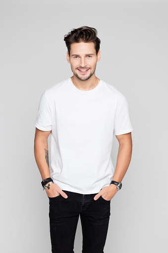 Portrait Of Handsome Young Man Stock Photo - Download Image Now