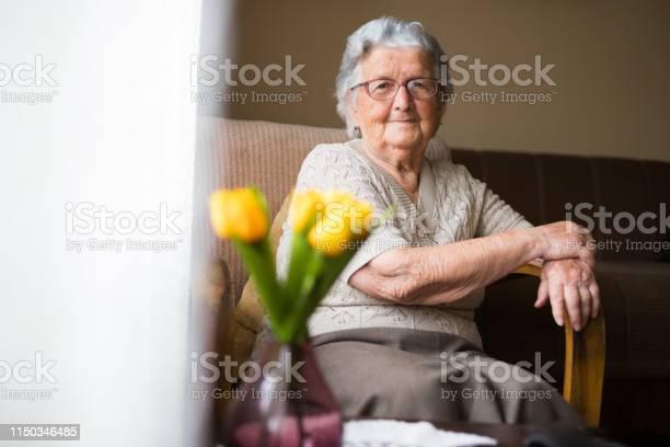 Portrait of happy beautiful grandmother at home picture id1150346485?b=1&k=6&m=1150346485&s=612x612&h=c4xeeska8ofea3gwj8sclldsqspea4z 82ofleyrjo4=