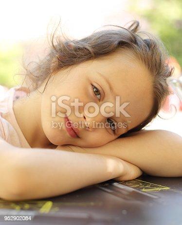 istock Portrait Of Happy Girl 952902084