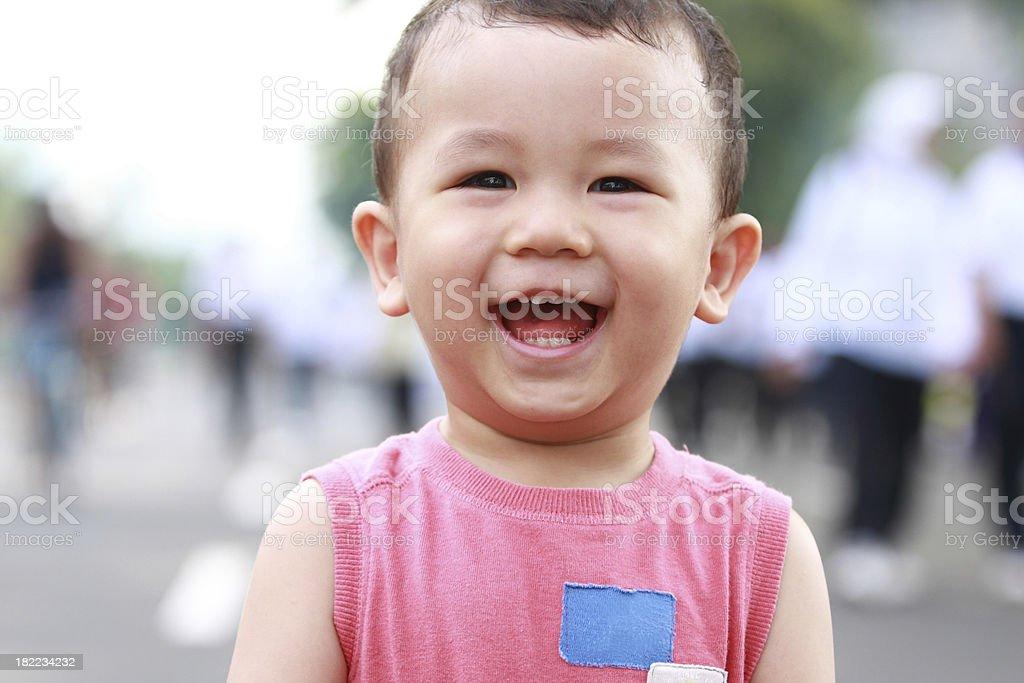 portrait of happy kid royalty-free stock photo