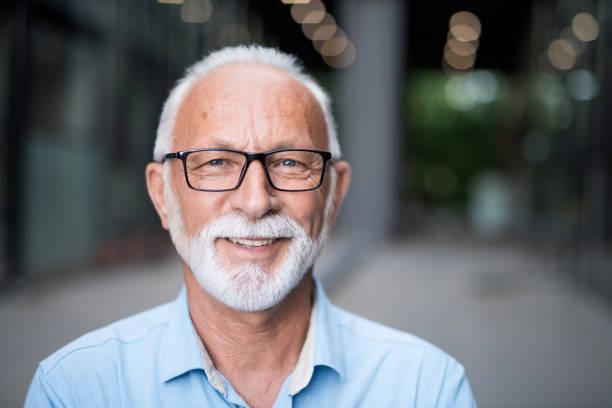 Portrait of happy senior businessman. Portrait of happy senior businessman. one senior man only stock pictures, royalty-free photos & images