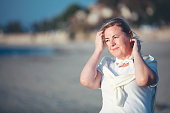 istock Portrait of healthy mature woman 1181638081
