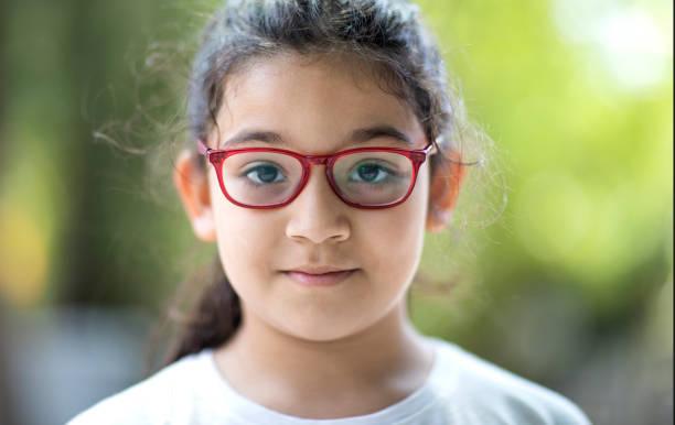 Portrait of hispanic girl