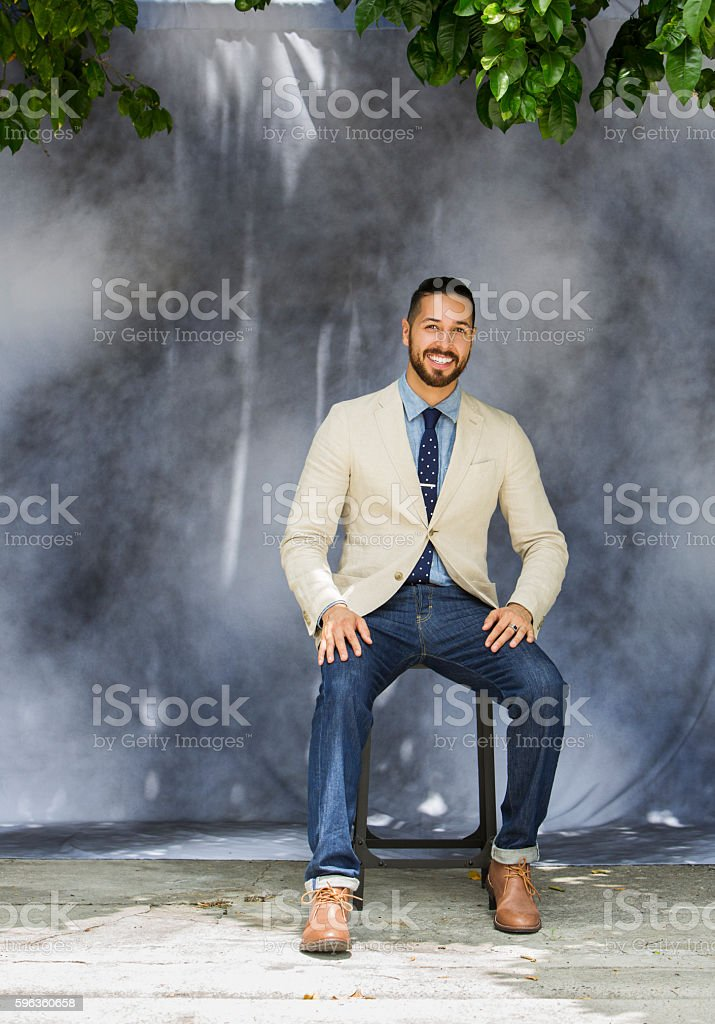Portrait of Hispanic Male royalty-free stock photo