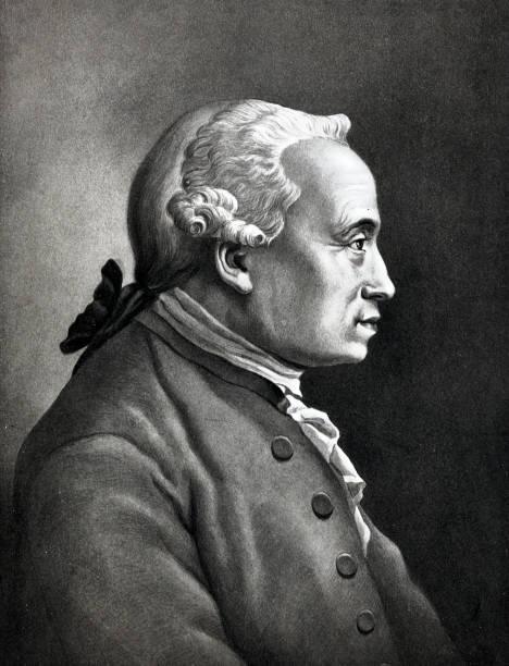 Porträt von Immanuel Kant, deutscher Philosoph, 1724-1804 – Foto
