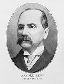 istock Portrait of important men of the 19th century New York Stock Exchange: Arnold Leo 1289222059