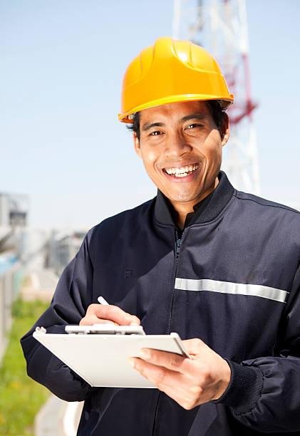 Porträt von industriellen engineer – Foto