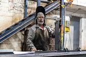 Portrait of Industrial Worker welder