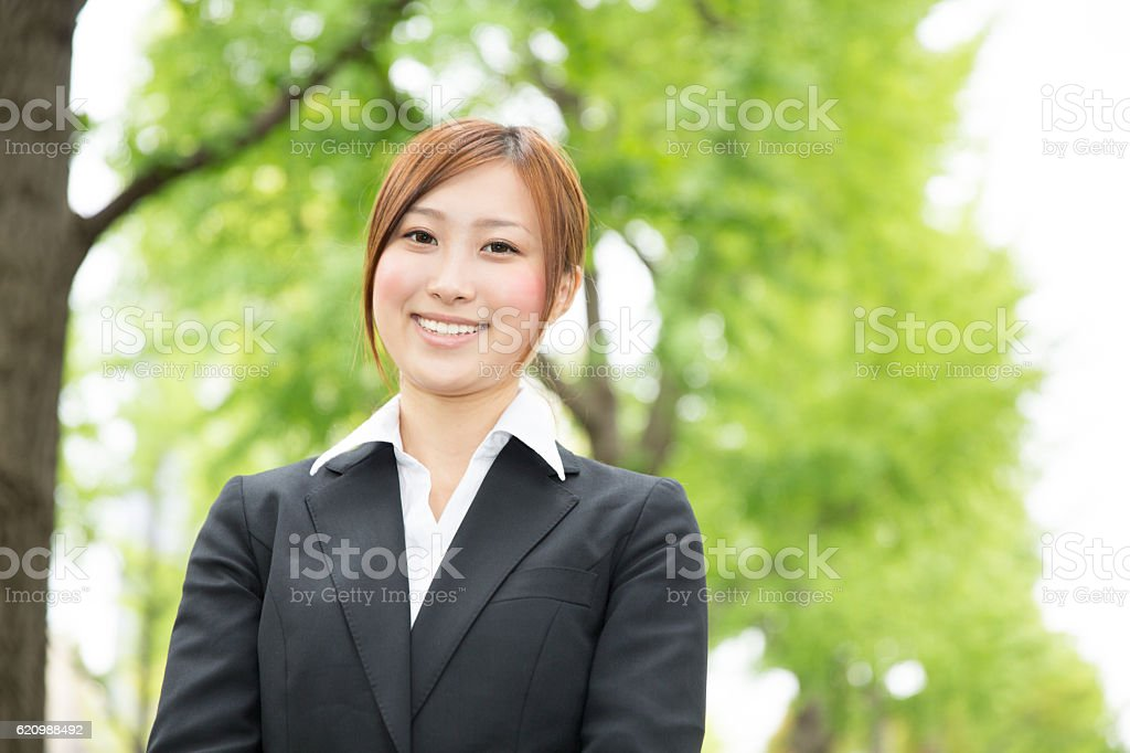 Portrait of Japanese business woman foto royalty-free
