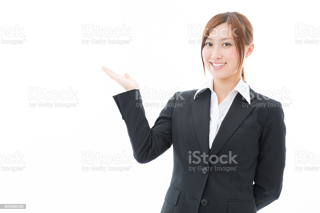Portrait of Japanese businesswoman foto royalty-free