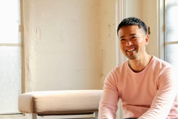 日本人男性の肖像 - 男性のみ ストックフォトと画像