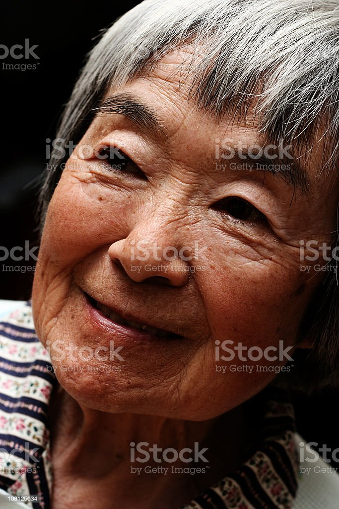 Portrait of Japanese Woman royalty-free stock photo