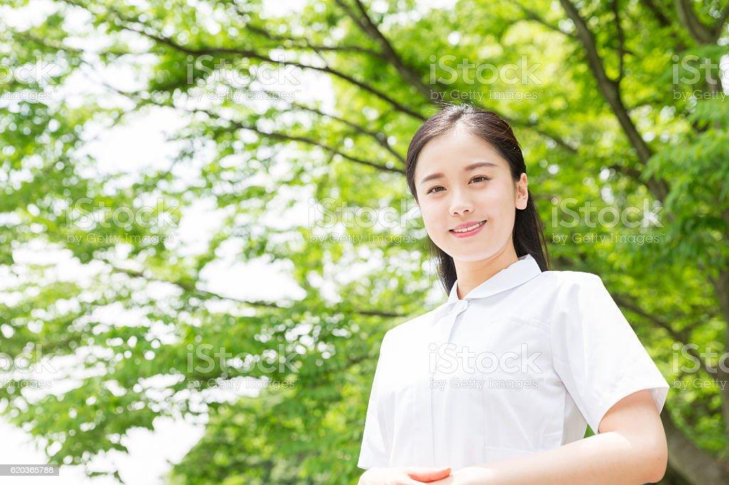 Japoński kobieta Portret  zbiór zdjęć royalty-free