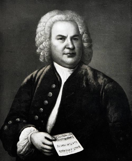 Porträt von Johann Sebastian Bach, deutscher Komponist, 1685-1750 – Foto