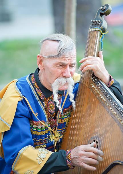 Cтоковое фото Портрет kobzar Петь в его дополнением