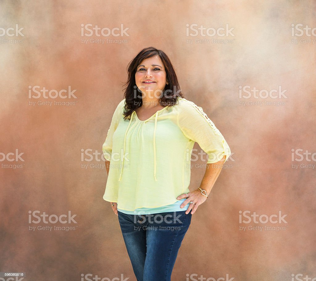 Portrait of Latina Woman royalty-free stock photo