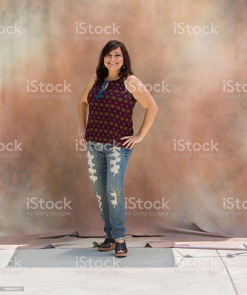 Portrait of Latina Woman royalty-free stock photo
