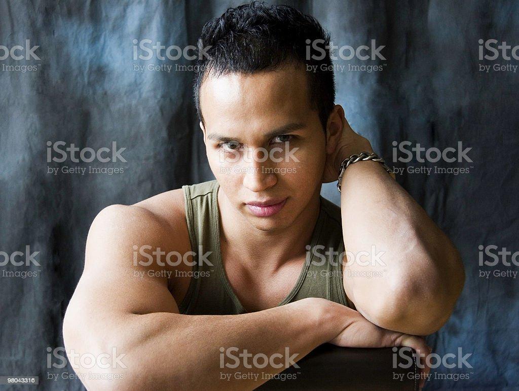 Portrait of Latino Man royalty-free stock photo