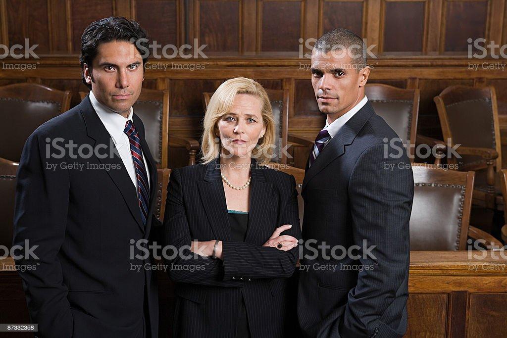 Porträt von Rechtsanwälten Lizenzfreies stock-foto