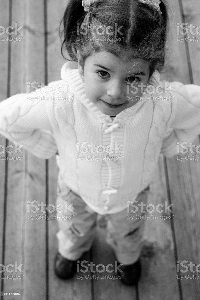 Porträt von kleinen Schönheit Lizenzfreies stock-foto