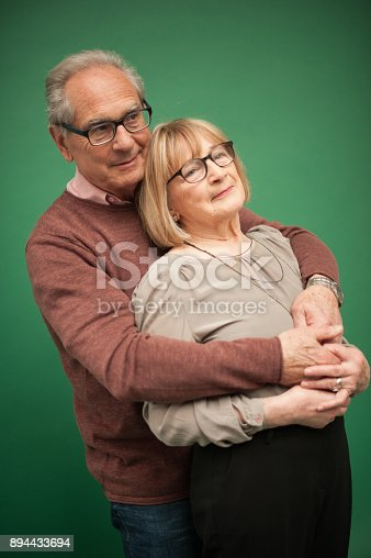 518911782istockphoto Portrait of Loving Senior Couple, Paris, France 894433694