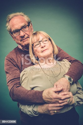 518911782istockphoto Portrait of Loving Senior Couple, Paris, France 894433696
