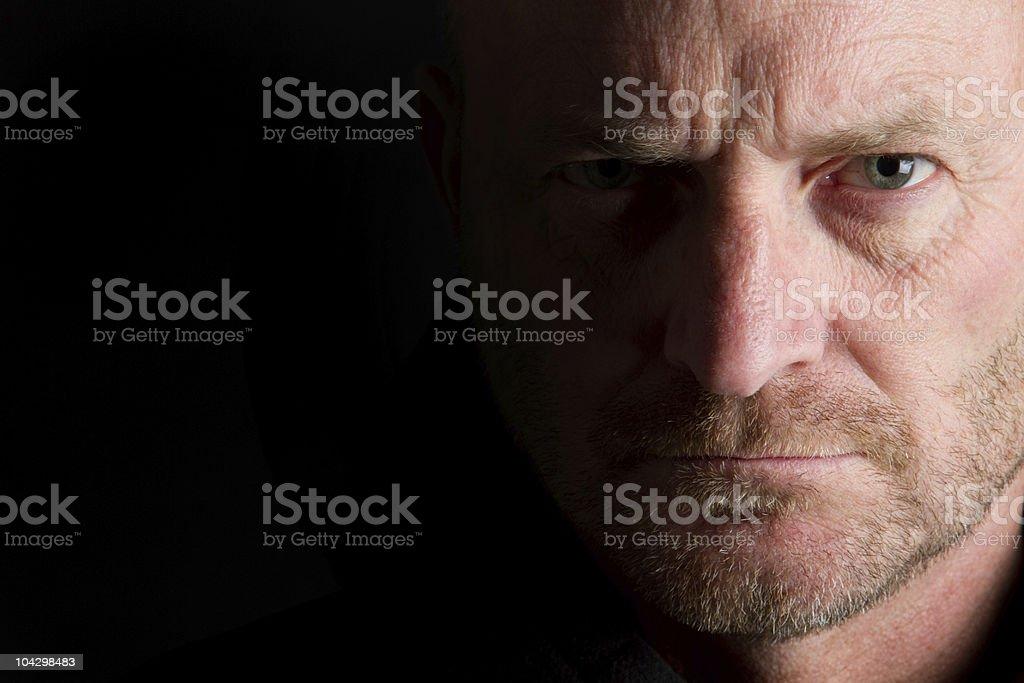 Portrait of Man royalty-free stock photo
