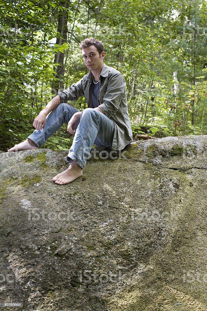 portrait of man foto stock royalty-free