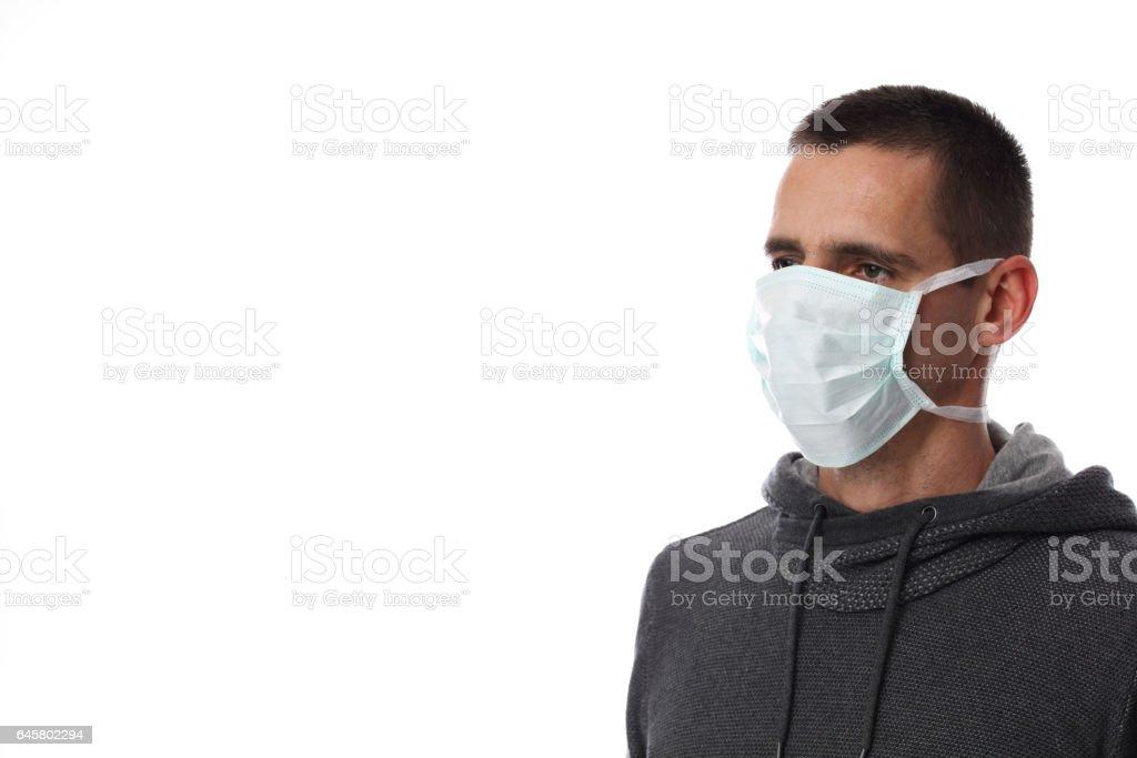 masque facial hygenique