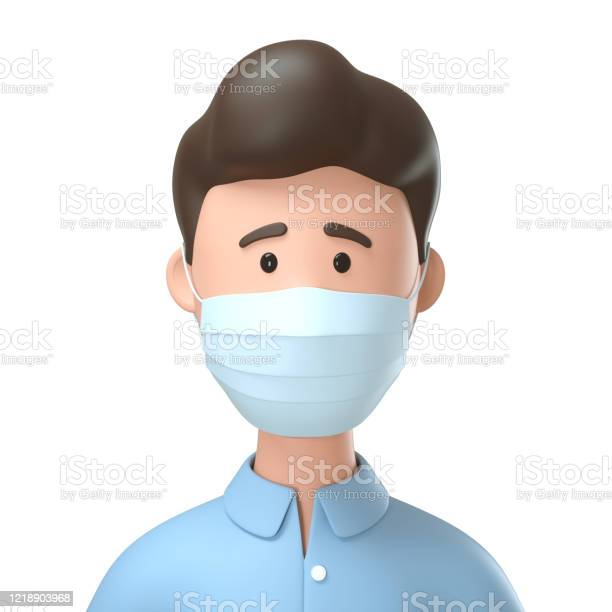 Portrait of man wearing medical mask for protection from coronavirus picture id1218903968?b=1&k=6&m=1218903968&s=612x612&h=j aldyky6 uvwwiya0aeccxnr0so9nbsgud11ytkhxs=